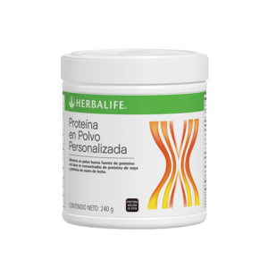 Proteína en Polvo Personalizada - PPP - Herbalife - 123bienestar.cl